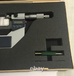 Mitutoyo 293-724-30 3-4 digital OD micrometer in box