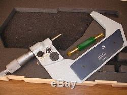 Mitutoyo 293-724-30 Digital Micrometer 3-4 No Reserve