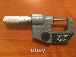 Mitutoyo 293-765-30 Digimatic Micrometer, 0-1/0-25mm Range, Resolution. 00005