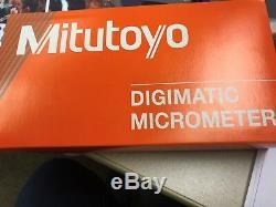 Mitutoyo 293-831-30 0-1 Digimatic Micrometer MDC LITE RATCHET, NO SPC, IP65