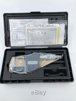Mitutoyo 293-831-30 0-1 Digimatic Micrometer MDC LITE RATCHET, NO SPC, RACHET