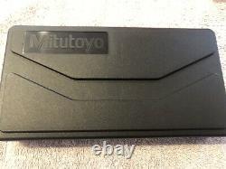 Mitutoyo 293-831-30 0-1 Digimatic Micrometer, Ratchet, No SPC. 00005 Res