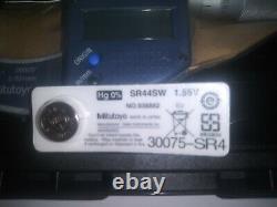 Mitutoyo 293-831-30 0-1digimatic Micrometer, Ratchet Stop Thimble