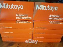 Mitutoyo 293-831-30 Digimatic Micrometer 0-1, 0-25mm. Made In Japan