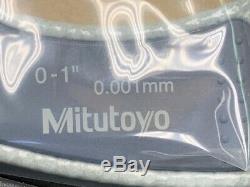 Mitutoyo 293-832-30 0-1 Digimatic Micrometer. 0005