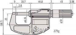 Mitutoyo 293-832-30 Digimatic Digital Micrometer (Outside)