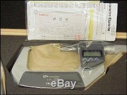 Mitutoyo 293-960-30 Digital Micrometer Set 0-3.00005/0.001mm Resolution, SPC