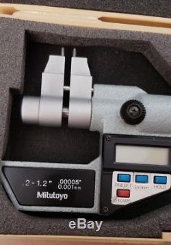 Mitutoyo. 2 1.2 Digital Micrometer