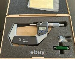 Mitutoyo 2-3 Digimatic Micrometer 293-332 Coolant Proof Ip65