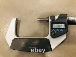 Mitutoyo 2 3 Digital Micrometer IP65 Coolant Proof 395-373