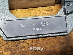 Mitutoyo 2-3 Digital Outside Diameter Micrometer no 293-371 with case. 00005