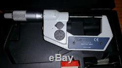 Mitutoyo 302 1229 Digital Point Micrometer 0-1 range, 0.00005