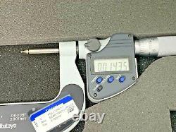 Mitutoyo 324-352-10 Digital Gear Tooth Micrometer 1-2.00005 0.001MM 262F