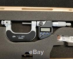 Mitutoyo 326-352-10 TMC-2 MJB Digital Screw Thread Micrometer 1-2