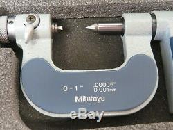 Mitutoyo 326-711-30 Digital Screw Thread Micrometer 0 25mm VGC ME2855