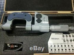 Mitutoyo 326-711-30 Digital Screw Thread Micrometer PRISTINE