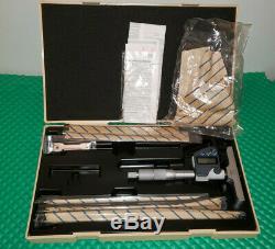 Mitutoyo 329-350-10 Digital Depth Micrometer, Interchangeable Rod Type 0-6