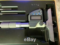 Mitutoyo 329-350-30 Digital Depth Micrometer Interchangeable Rod 0-6