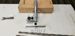 Mitutoyo 329-711-30, 0-6 x. 00005 Res. Digital Depth Gage Micrometer in Box