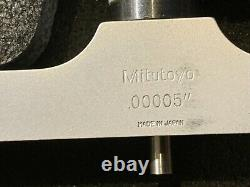 Mitutoyo 329-711 Digital Depth Micrometer Set 0-6 Accuracy to. 00005