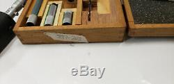 Mitutoyo 337-203, 8-40 Tubular Digital Inside Micrometer Has Etchings. Shelf w2
