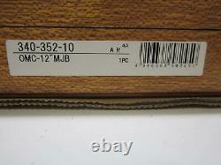 Mitutoyo 340-352-10 6-12 LCD Outside Micrometer Set