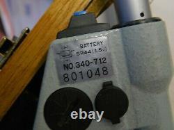 Mitutoyo 340-712 Digimatic Outside Micrometer 0.00005 Resolution Range 6-12