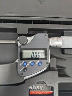 Mitutoyo 342-351-30 CPM15-1MX Point Micrometer, IP65, 15 Degree, 0-1, 0.00005