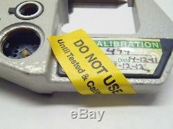 Mitutoyo 342-431-30 Crimp Height Digital Micrometer 0-1 MISSING BATT & DATA CVR