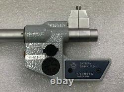 Mitutoyo 345-511-30 Caliper Type Precision Digital Micrometer (Metric only) Used