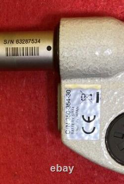 Mitutoyo 350-354-30 Digital Micrometer Head, 0-1 0-25.4 mm 0.00005 Resolution