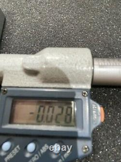 Mitutoyo 389-711-30 Digital Depth Micrometer 0-6 0-150mm 6 Rods