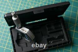 Mitutoyo / 395-271 / Spherical Face Micrometers, 25mm Range