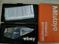 Mitutoyo 395-351-30 Digital Micrometer IP65 0-25mm 0-1 Brand New