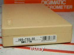 Mitutoyo 395-733-30 DigimaticTubing Micrometer, 0-1/25mm, Spherical Rod, Machinist