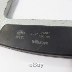 Mitutoyo 3-4.00005 Digital Micrometer 293-333