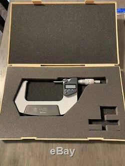 Mitutoyo 3-4 digital micrometer 293-343