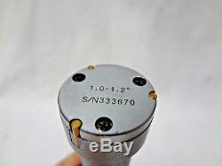 Mitutoyo 3-Point Digimatic Digital Holtest Micrometer Bore Gauge Gage 1.0-1.2