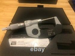 Mitutoyo 406-350-30 Digital Micrometer 0-1 SAE & Metric Non-Rotating Spindle