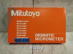 Mitutoyo 406-351 Micrometer Digimatic Coolant Proof 1-2/. 00005