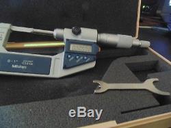 Mitutoyo #422-311-30 Digital Blade Micrometer