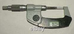 Mitutoyo 422-330 0-1 Digital LCD Display Blade Micrometer. 00005 0.001MM