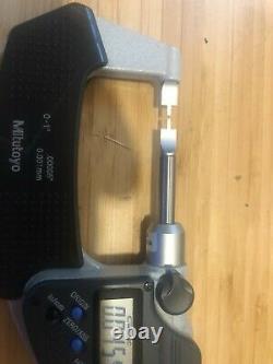 Mitutoyo 422-330-30 BLM-1MX Blade Micrometer, 0-1, 0.00005/0.001 mm-no case