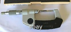 Mitutoyo 422-330 BLM-1M Blade Micrometer, Type A, 0-1, 0.00005/0.001 mm