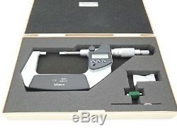 Mitutoyo 422-331-30 Digital Blade Micrometer 1-2.00005 Near Mint with Case