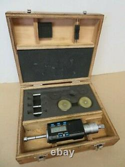 Mitutoyo 468-496 Holtest. 275.5 Digital Bore Micrometer Gauge Set VGC