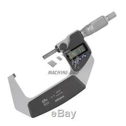 Mitutoyo 50-75mm IP65 Anti-corrosion Digital Micrometer with Ratchet Stop