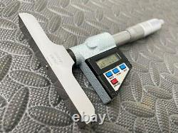 Mitutoyo 523-711 Digital Depth Micrometer Set 0-6, 0.00005 Resolution