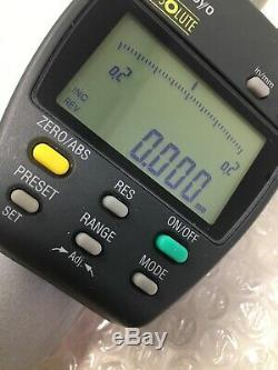 Mitutoyo 543-558-1, ID-F150HE Absolute Digital Indicator, 0-2, Lot E