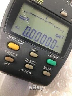 Mitutoyo 543-558-1, ID-F150HE Absolute Digital Indicator, 0-2, Lot G